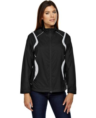 North End 78167 Ladies' Venture Lightweight Mini Ottoman Jacket BLACK