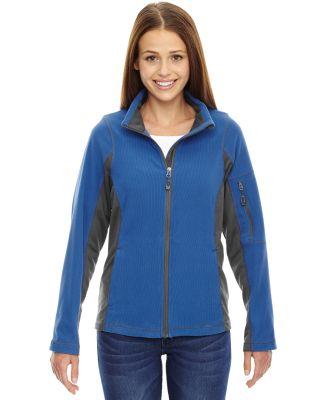 North End 78198 Ladies' Generate Textured Fleece Jacket NAUTICAL BLUE