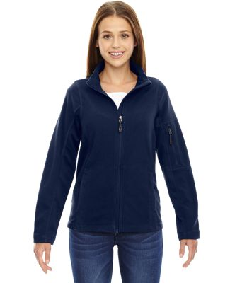 North End 78198 Ladies' Generate Textured Fleece Jacket NIGHT