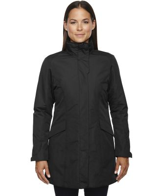 North End 78210 Ladies' Promote Insulated Car Jacket BLACK