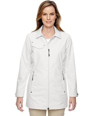 North End 78218 Ladies' Excursion Ambassador Lightweight Jacket with Fold Down Collar CRYSTAL QUARTZ