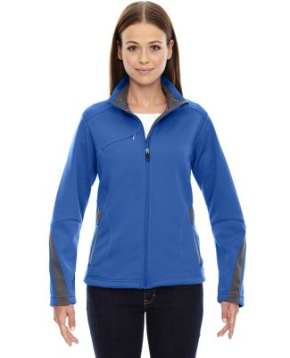 78649 Ash City - North End Sport Red Ladies' Escape Bonded Fleece Jacket OLYMPIC BLUE