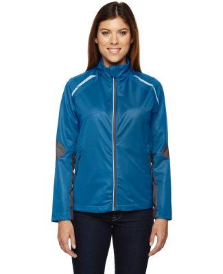 78654 Ash City - North End Sport Red Ladies' Dynamo Three-Layer Lightweight Bonded Performance Hybrid Jacket OLYMPIC BLUE