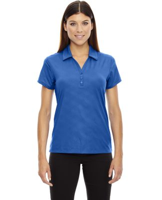 78659 Ash City - North End Sport Red Ladies' Maze Performance Stretch Embossed Print Polo NAUTICAL BLUE