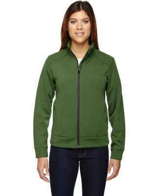 78660 Ash City - North End Sport Red Ladies' Evoke Bonded Fleece Jacket FERN