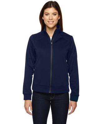 78660 Ash City - North End Sport Red Ladies' Evoke Bonded Fleece Jacket NIGHT