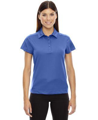 78676 Ash City - North End Sport Red Ladies' Symmetry UTK cool.logik™ Coffee Performance Polo NAUTICAL BLUE