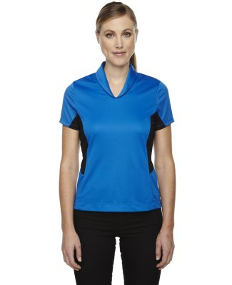 78683 Ash City - North End Sport Red Ladies' Rotate UTK cool.logik™ Quick Dry Performance Polo OLYMPIC BLUE