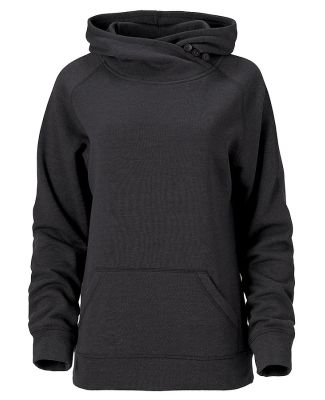 Ouray 82066 - Women's Asym Redux Hood Charcoal Heather