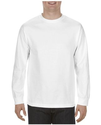 Alstyle 1904 Adult Long Sleeve Tee White