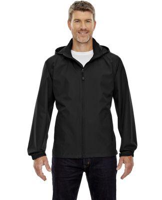 North End 88083 Men's Techno Lite Jacket BLACK