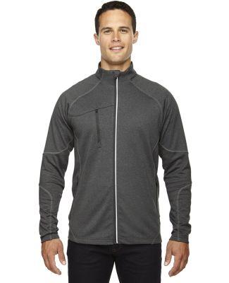 88174 North End Gravity Men's Performance Fleece Jacket  CARBON HEATHER
