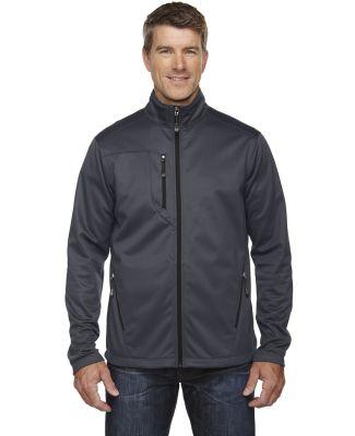 88213 Men's Trace Printed Fleece Jacket CARBON