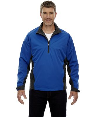 88656 Ash City - North End Sport Red Men's Paragon Laminated Performance Stretch Wind Shirt NAUTICAL BLUE