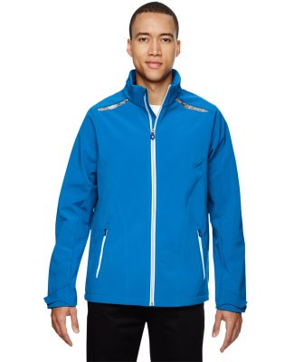 88693 Ash City - North End Sport Red Men's Excursion Soft Shell Jacket with Laser Stitch Accents OLYMPIC BLUE