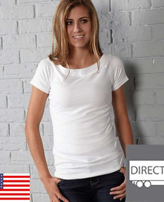 in_your_face 0A37IN In Your Face A37 /Juniors Wideneck Scoop Tee