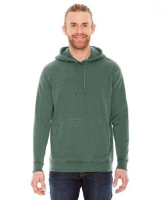 AP207 Authentic Pigment Unisex French Terry Hoodie WILLOW