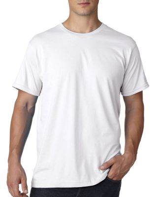 B5000 Bayside Adult Jersey Cotton Tee White