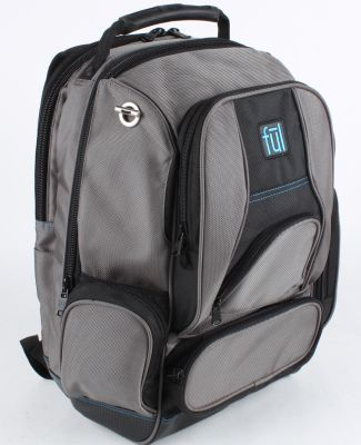 997 BD5333 Alleyway Groundbreaker Backpack TITANIUM/ BLACK