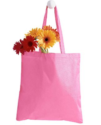BE003 BAGedge 8 oz. Canvas Tote PINK