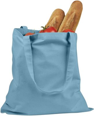 BE007 BAGedge 6 oz. Canvas Promo Tote SKY BLUE