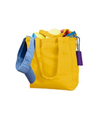 BE008 BAGedge 12 oz. Canvas Book Tote YELLOW