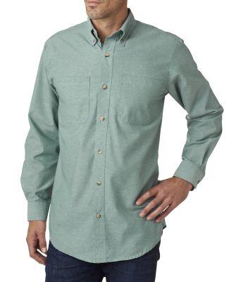 BP7004 Backpacker Men's Yarn-Dyed Chambray Woven Shirt