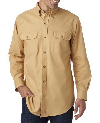 BP7005 Backpacker Men's Solid Flannel Shirt