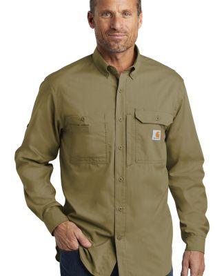 CARHARTT 102418 Carhartt Force  Ridgefield Solid Long Sleeve Shirt