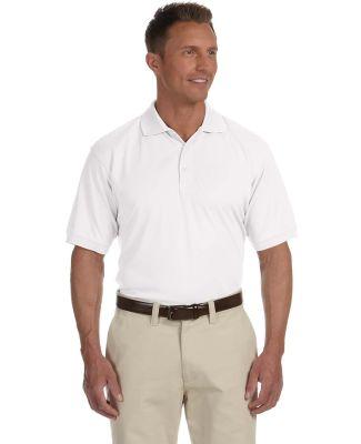 DG385 Devon & Jones Men's Dri-Fast™ Advantage™ Solid Mesh Polo WHITE