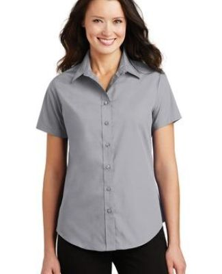 Port Authority Ladies Short Sleeve Value Poplin Shirt L633