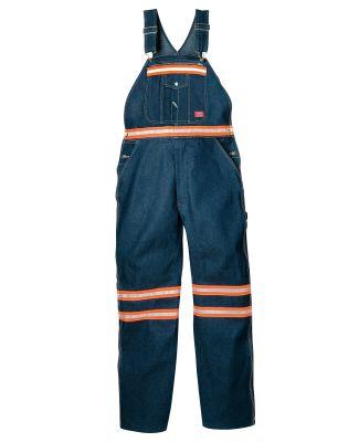 Dickies Workwear VB501 Men's Enhanced Visibility Denim Bib Overall
