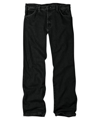Dickies Workwear 13292 Unisex Relaxed Straight Fit 5-Pocket Denim Jean Pant