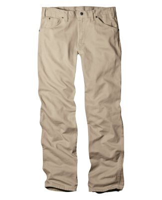 Dickies Workwear 17292 Unisex Regular Straight Fit 5-Pocket Denim Jean Pant
