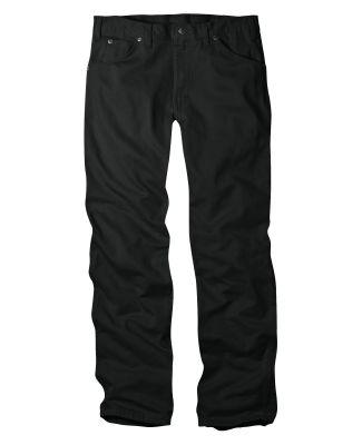 Dickies Workwear 17293 Unisex Regular Straight Fit 5-Pocket Denim Jean Pant