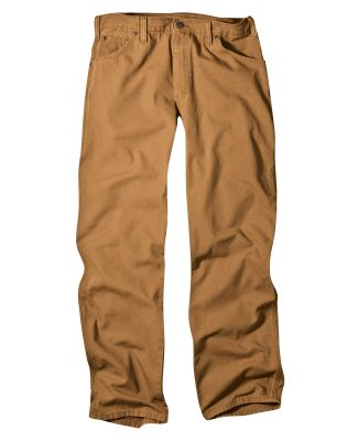 Dickies Workwear 1939R Unisex Relaxed Fit Straight Leg Carpenter Duck Jean Pant
