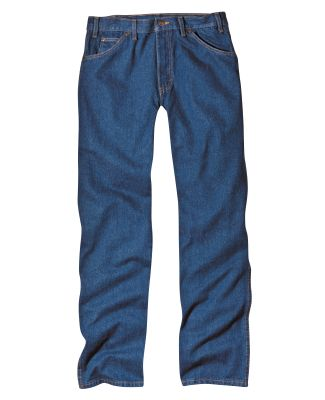 Dickies Workwear 9393 Unisex Regular Straight Fit 5-Pocket Denim Jean Pant