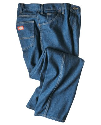Dickies Workwear CR393 Unisex Industrial Relaxed Fit Denim Jean Pant