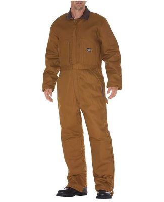 Dickies Workwear TV239 Unisex Duck Insulated Coverall BROWN DUCK _S