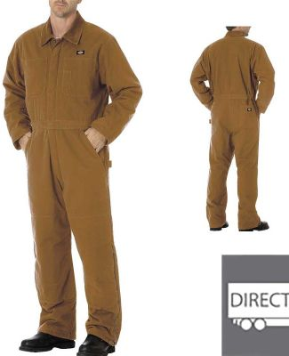 Dickies Workwear TV243 Unisex Sanded Duck Insulated Coverall