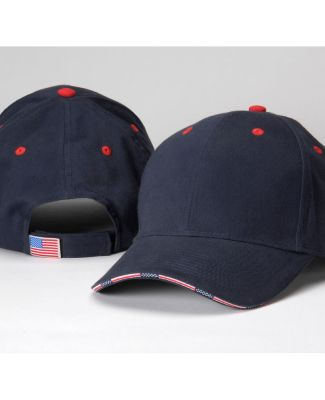 PA102 Adams Brushed Cotton Twill Patriot Cap