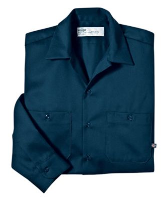 Dickies Workwear LL307 6 oz. Industrial Long-Sleeve Cotton Work Shirt