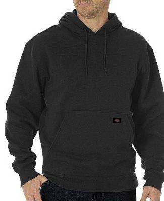 Dickies Workwear TW392 Unisex Midweight Fleece Pullover Hoodie BLACK