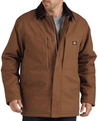 Dickies Workwear TC845 Unisex Sanded Chore Duck Coat BROWN DUCK