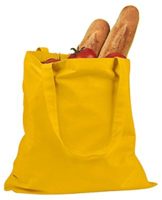 BE007 BAGedge 6 oz. Canvas Promo Tote YELLOW
