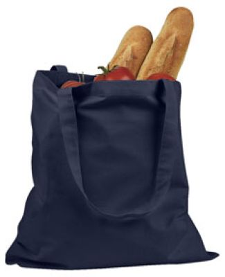 BE007 BAGedge 6 oz. Canvas Promo Tote NAVY