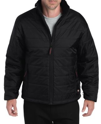 Dickies Workwear BJJ03 Men's Pro™ Glacier Extreme Puffer Jacket BLACK