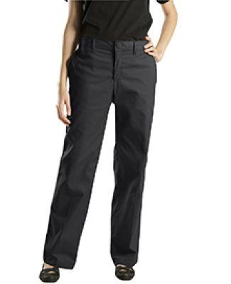 Dickies Workwear FP221 6.75 oz. Women's Premium Flat Front Pant BLACK _00