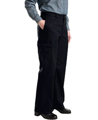 Dickies Workwear FP223 6.75 oz. Women's Premium Cargo/Multi-Pocket Pant BLACK _04