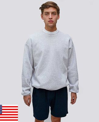 969 HF07LO Los Angeles Apparel HF07/Heavy Weight Fleece Crew Neck
